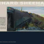 Richard Sheehan's postumous web site is being used as an archive of his paintings and promote an upcoming retrospective.