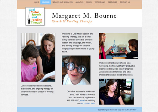 Margaret M. Bourne, Speech & Feeding Therapy