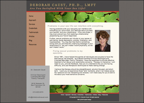 Deborah Caust, Ph.D.