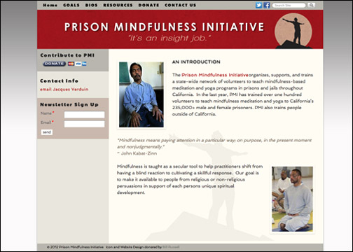 Prison Mindfulness Initiative