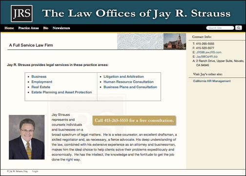 The Law Offices of Jay R. Strauss