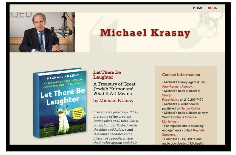 Michael Krasny's New Book